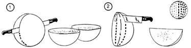 Схема нарезки сыра в торговле