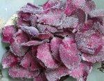 Засахарённые лепестки роз